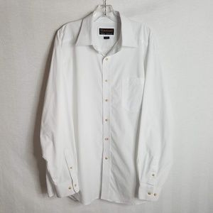 ARIAT Pro Series White Button Front Shirt Mens XL